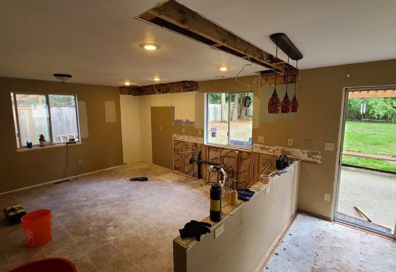 Kitchens demolition tacoma